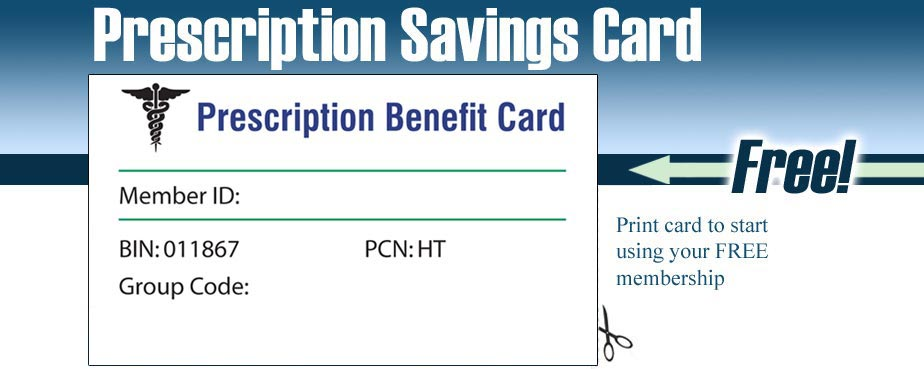Discount Prescription Card Free